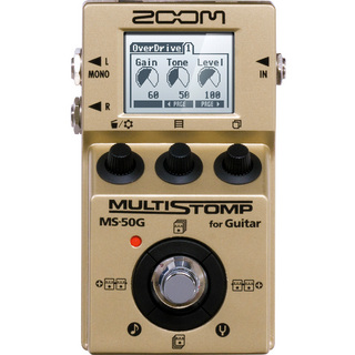 ZOOM MS-50G-I MultiStomp Guitar Pedal Gold Limited 【新宿店】