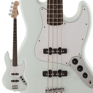 Squier by Fender FSR Affinity Series Jazz Bass Sonic Blue