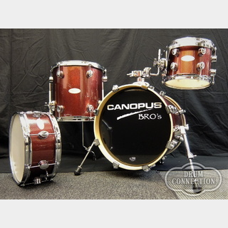 "canopus【即納可能!】BRO's Series SessionKit SK-16 4pcs ""Platinum Ruby""【送料無料】"