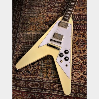 Gibson Custom Shop Japan Limited Run 70s Flying V Block Inlay Classic White Vintage Gloss s/n 100085【3.11kg】