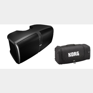 KORG KONNECT -PORTABLE STEREO PA SYSTEM- 2点セット【本体+ケース】【新製品】