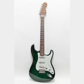 Fender Custom Shop Quilt Maple Top Stratocaster N.O.S / Emerald Green Transparent