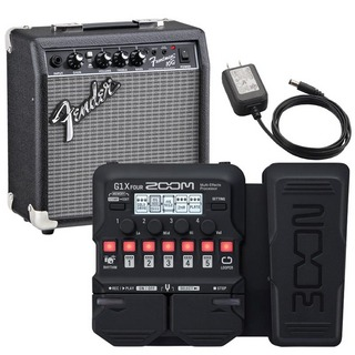 ZOOM G1X FOUR + AD-16A/D + Fender USA/Frontman 10G SET