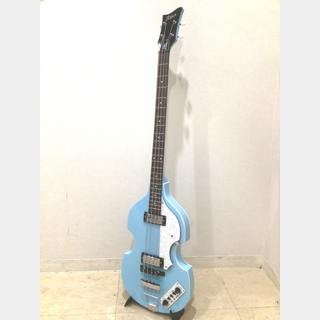 Karl Hofner Ignition Bass Snow Blue (Used)