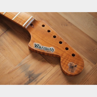 WARMOTH CBS Starocaster Neck - Roasted Flame Maple - Fatback - Vintage/Modern