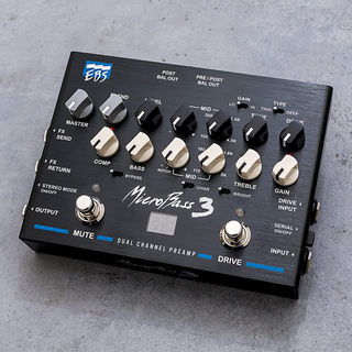 EBS MicroBass 3 Professional Outboard Preamp 【即納可能】