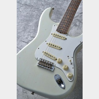 Fender Custom Shop 1964 Stratocaster Journeyman Relic Super Faded Aged Sonic Blue S/N CZ535122 ≒3.47kg
