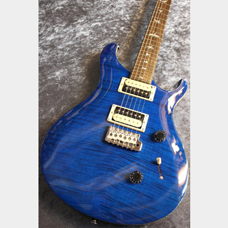 Paul Reed Smith(PRS) SE Custom24 Blue Matteo #C27000 【入門者おススメ】【激杢個体】【人気カラー】