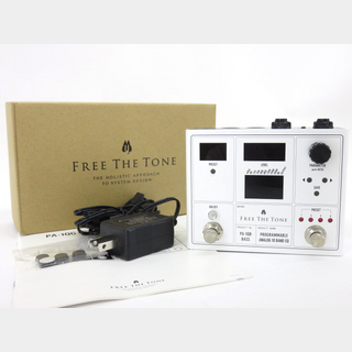 Free The Tone PROGRAMMABLE ANALOG 10 BAND EQ PA-1QB BASS