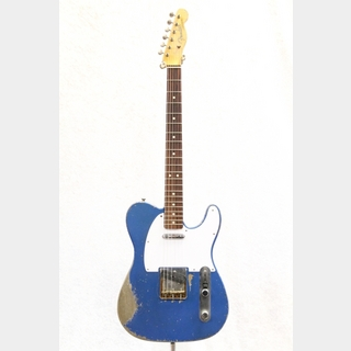 Fender Custom Shop2018 MB 1963 Telecaster Relic / Lake Placid Blue Build by Dale Wilson