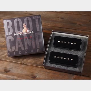 "Bare Knuckle Pickups ""Boot Camp Series""  Old Guard / P90 / Set / Covered Black"