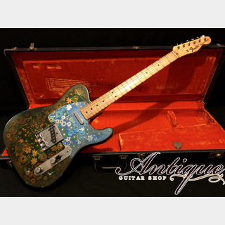 "Fender Telecaster 1968-69年製 Blue Floral (Flower) Full-Original except Fret & Nut ""Ultra×2 Rare Vintage"""