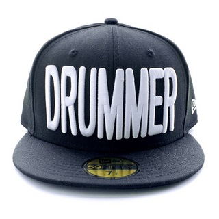DRUMMERS TOP TEAM DTT CAP01 NEW ERA X DTT 59FIFTY BLACK M 7 1/2 ドラマーズトップチームキャップ