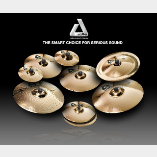 Paiste ALPHA Rock BOX【14HH/20Ride/18Crash/16Crash】【1台限定大特価!!50%OFF!!送料無料!!】