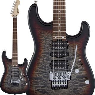 Charvel MJ San Dimas Style 1 HSH FR PF QM (Midnight Glow) [Made In Japan]