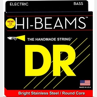DR HI-BEAM DR-MR45 ROUND CORE STEINLESS STEEL WOUND 45-105 Long Scale MEDIUM 【渋谷店】