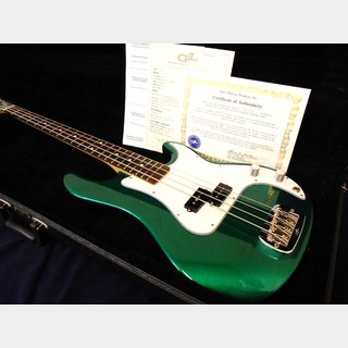 G&L USA LB-100 35h Annivrsaey Emerald Green Metallic