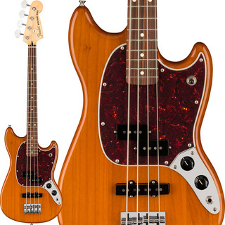 Fender Mexico Player Mustang Bass PJ (Aged Natural/Pau Ferro) [Made In Mexico]