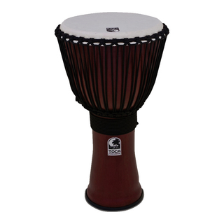 "TOCA TF2DJ-14R Freestyle II Djembe 14"" Red Synthetic Head ジャンベ"