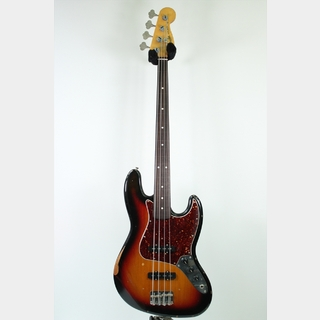 FenderRoad Worn 60s Jazz Bass, Rosewood Fingerboard (USED) / 3-Color Sunburst