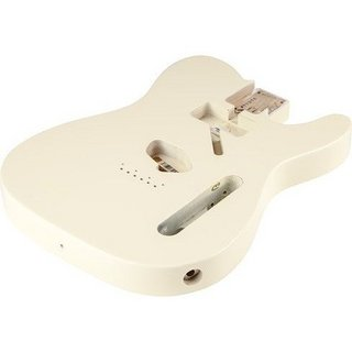 Fender USA TELECASTER BODY (VINTAGE BRIDGE)-VINTAGE BLONDE 0998005707
