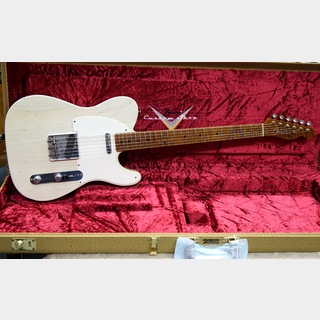 Fender Custom Shop Limited Edition 1955 Telecaster Roasted Maple Neck Journeyman Relic (Aged White Blonde)
