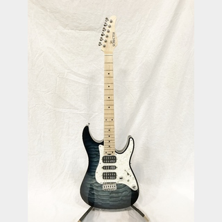 SCHECTER SD-DX-24-AS-FXD/BLNS/M  (Blue Natural Sunberst/Maple) 【アウトレット特価】【限定モデル】【日本製】