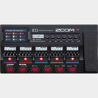 ZOOMG11[Multi-Effects Processor]