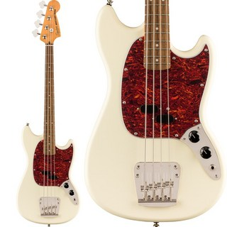 Squier by Fender Classic Vibe '60s Mustang Bass (Olympic White)