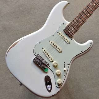 Fender Road Worn '60s Stratocaster ~Olympic White~ #MX19052030 【3.60kg】【送料無料】