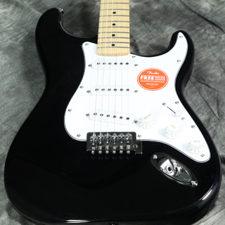 Squier by Fender Affinity Stratocaster Black Maple【チョイ傷アウトレット特価】【S/N CSSH20016404】 【WEBSHOP】