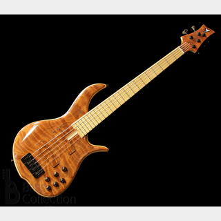 F-bass BN5-NTR / 2012 NAMM MODEL (Flame Redwood Top) 【USED】