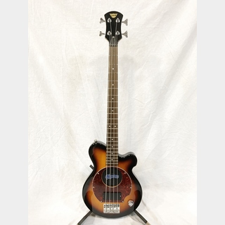 Pignose PGB-200 Brown Sunburst (BS) 【中古美品】【アンプ内蔵】