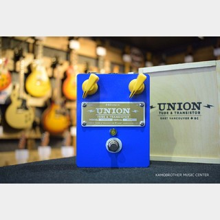 UNION TUBE&TRANSISTOR Crackle〈クラックル〉 Treble Booster  /  for fans of Rory Gallagher Style