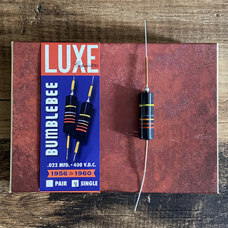 Luxe 1956-1960 Single Oil-Filled .022mF Bumblebee Capacitor