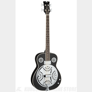 DEAN Resonator Acoustic/Electric Bass - CBK [RES BASS CBK]