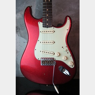 Fender Custom Shop 63 Stratocaster Journeyman Relic Faded Red Sparkle