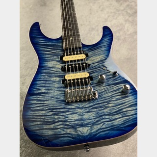 T's Guitars 【新品同様中古】DST-Pro24 Mahogany Limited ~Trans Blue Denim Burst~