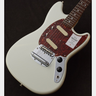 Fender 【良鳴り!】Made in Japan  Traditional 60s Mustang Olympic White ≒3.26kg【新スペック】
