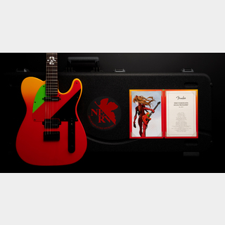 Fender Made in Japan 2020 Evangelion Asuka Telecaster
