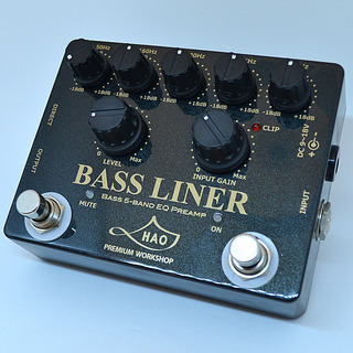 "HAO BASS LINER ""Limited Edition"" / Black Diamond 【150台限定生産カラー】"