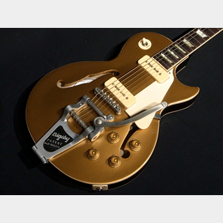 Gibson ES Les Paul Gold top P-90 w/Bigsby VOS 2016 Gold Top