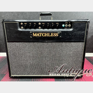 "Matchless DC-30 1993年製 Black 117V P-Handle & Emboss Logo w/ Tour Case ""Custom Color & Full-Original"""