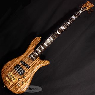 "Warwick Custom Shop Streamer Jazzman 4st ""Zebrano Body"" [#A162243-17]"