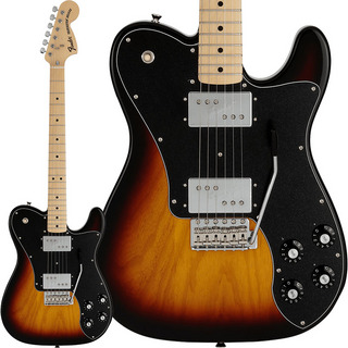 Fender Made in Japan Limited 70s Telecaster Deluxe with Tremolo (3-Color Sunburst/Maple)
