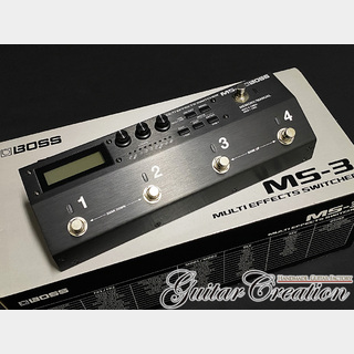 BOSS MS-3【MULTI EFFECTS SWITCHER】w/Original Box Clean Condition!!