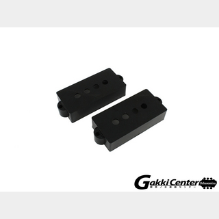 ALLPARTS Pickup covers for Precision Bass Black/8233