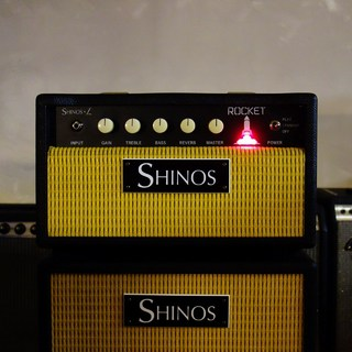 SHINOS&L ROCKET HEAD /Green Tolex & 6L6【2021年1月入荷予定】