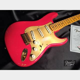 Fender Custom Shop '56 ST Relic Custom Color FRD