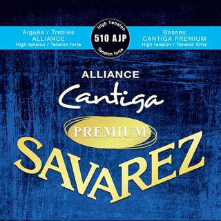SAVAREZ 510 AJP High tension ALLIANCE / Cantiga PREMIUM クラシックギター弦×6セット